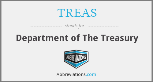 What does TREAS stand for?