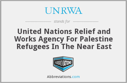 UNRWA - United Nations Relief and Works Agency For Palestine Refugees In The Near East