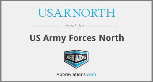 What does USARNORTH stand for?