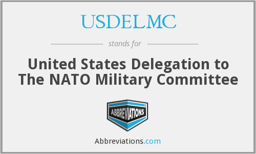 USDELMC - United States Delegation to The NATO Military Committee