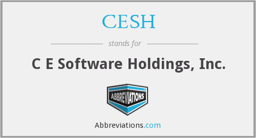 What does CESH stand for?