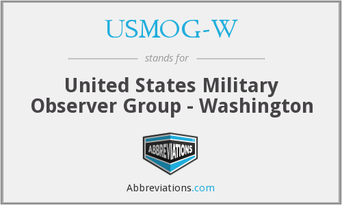 What does USMOG-W stand for?