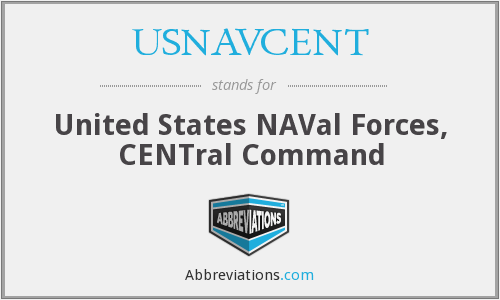 What does USNAVCENT stand for?