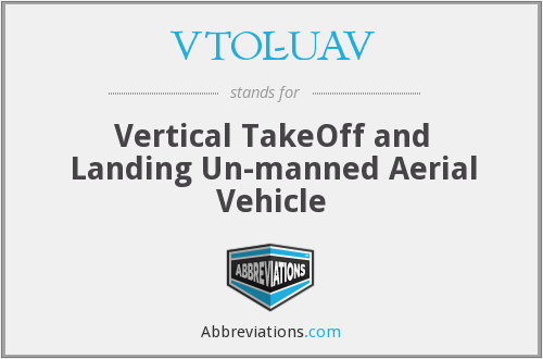 What does VTOL-UAV stand for?