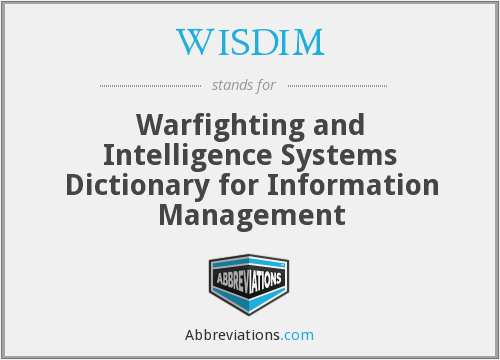 What does WISDIM stand for?