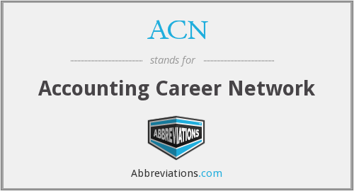 ACN - Accounting Career Network
