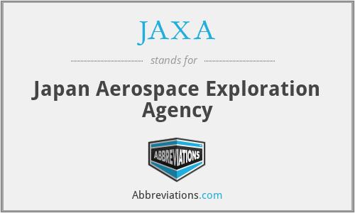 JAXA - Japan Aerospace Exploration Agency