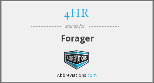 4HR - Forager
