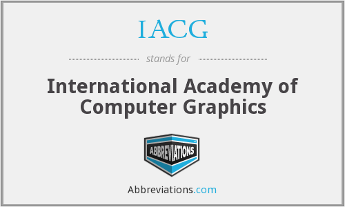 What does IACG stand for?