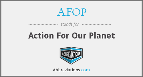 What does AFOP stand for?