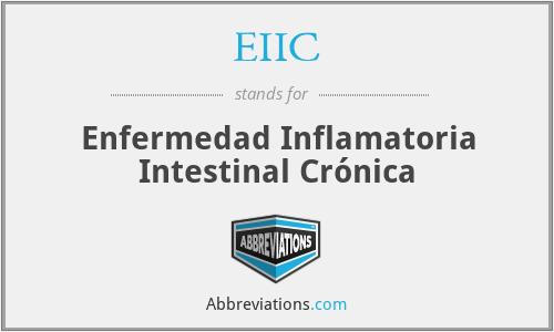 EIIC - Enfermedad Inflamatoria Intestinal Crónica