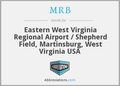 MRB - Eastern West Virginia Regional Airport / Shepherd Field, Martinsburg, West Virginia USA