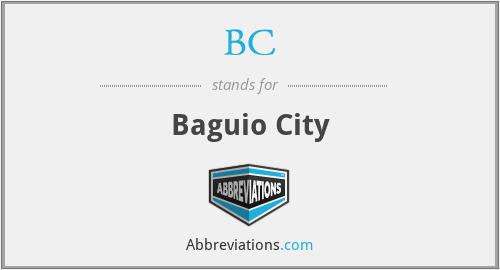 BC - Baguio City