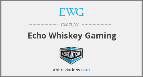 EWG - Echo Whiskey Gaming