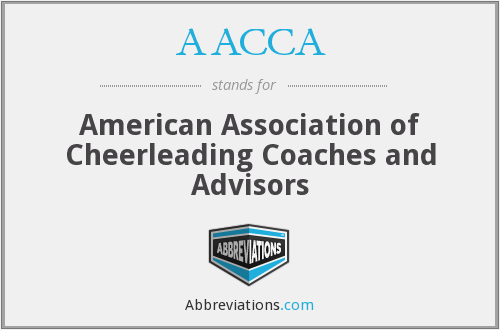 AACCA - American Association of Cheerleading Coaches and Advisors