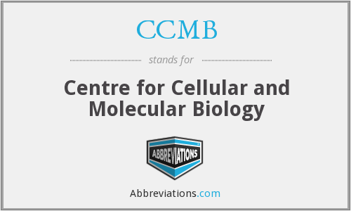CCMB - Centre for Cellular and Molecular Biology