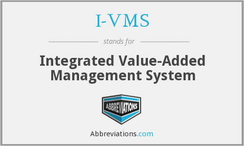 What does I-VMS stand for?