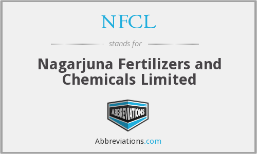 NFCL - Nagarjuna Fertilizers and Chemicals Limited