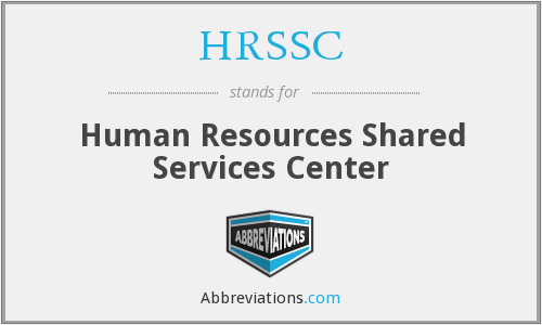 HRSSC - Human Resources Shared Services Center