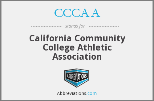 What does CCCAA stand for?