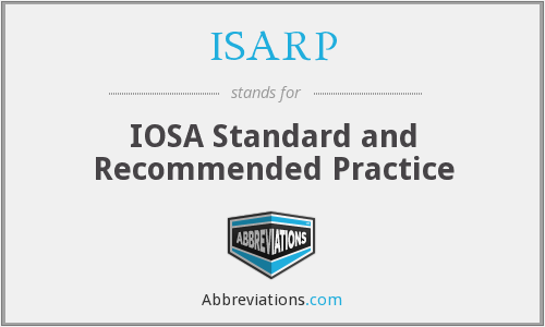 ISARP - IOSA Standard and Recommended Practice