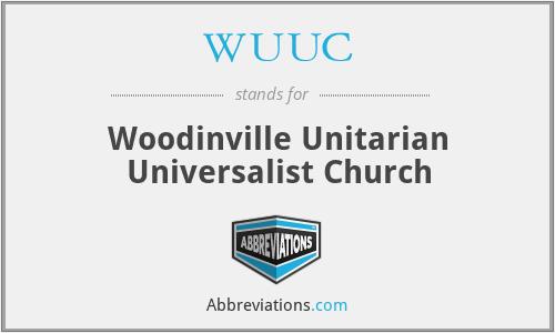 WUUC - Woodinville Unitarian Universalist Church
