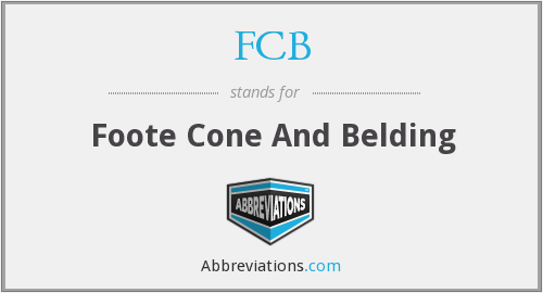 FCB - Foote Cone And Belding