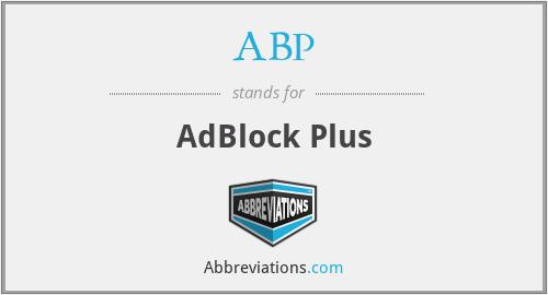 ABP - AdBlock Plus