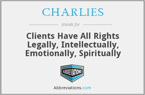 What does CHARLIES stand for?