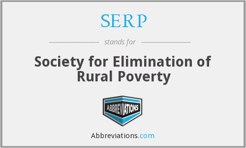SERP - Society for Elimination of Rural Poverty