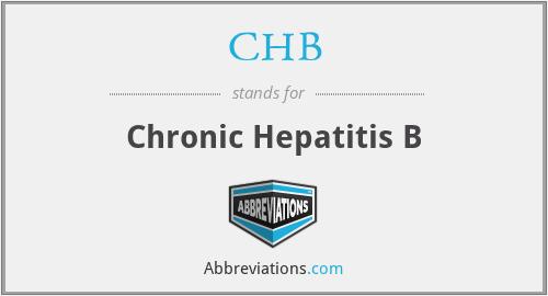 CHB - Chronic Hepatitis B