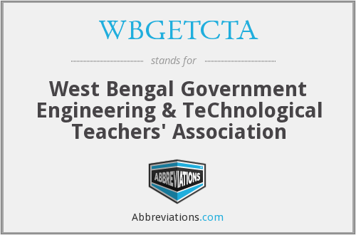 What does WBGETCTA stand for?