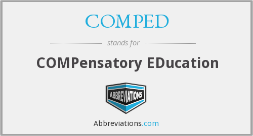 COMPED - COMPensatory EDucation