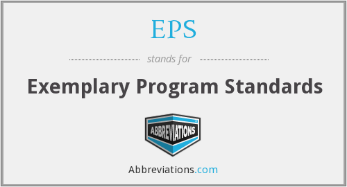 EPS - Exemplary Program Standards