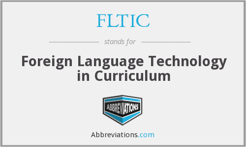 FLTIC - Foreign Language Technology in Curriculum