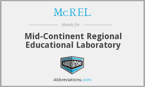 What does MCREL stand for?