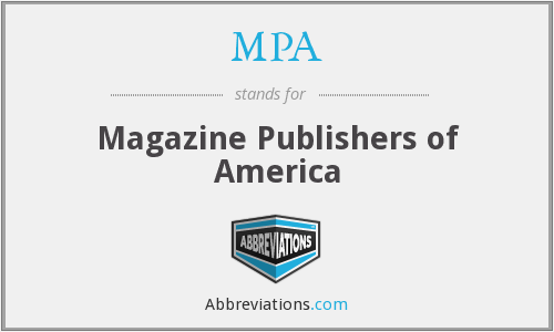 MPA - Magazine Publishers of America