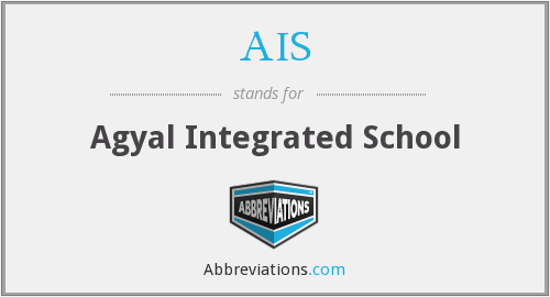 AIS - Agyal Integrated School