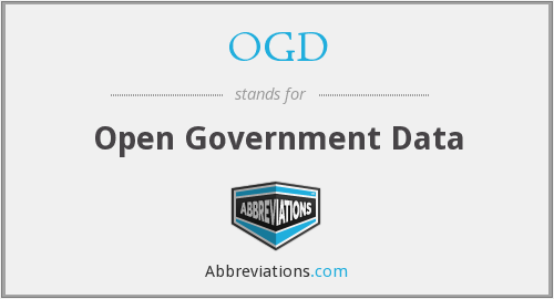 OGD - Open Government Data