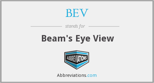 BEV - Beam's Eye View