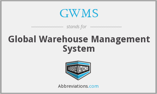 GWMS - Global Warehouse Management System