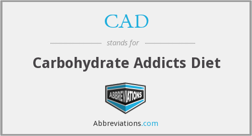 CAD - Carbohydrate Addicts Diet