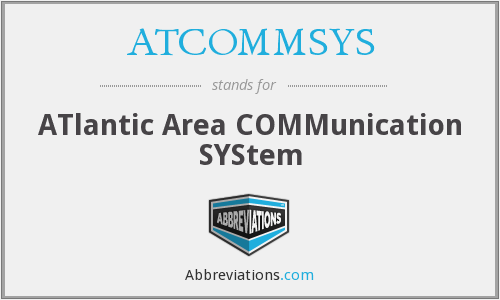 What does ATCOMMSYS stand for?