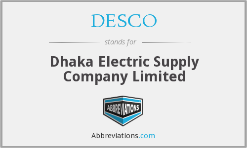 DESCO - Dhaka Electric Supply Company Limited