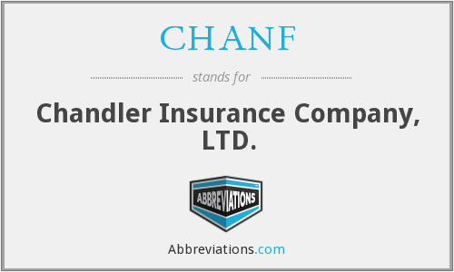 What does CHANF stand for?