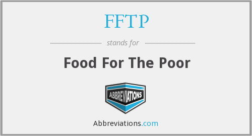 FFTP - Food For The Poor