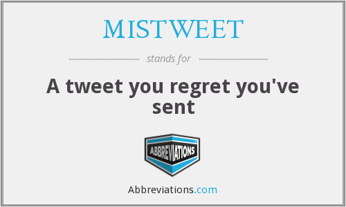 What does MISTWEET stand for?