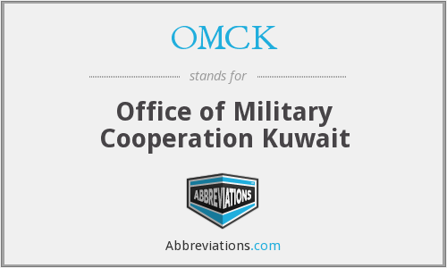 OMCK - Office of Military Cooperation Kuwait