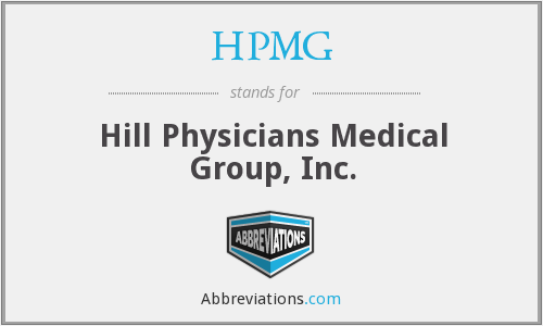What does HPMG stand for?