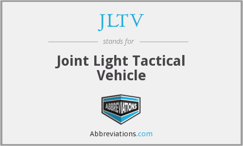 JLTV - Joint Light Tactical Vehicle